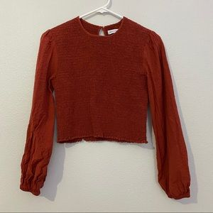 Urban Outfitters Tops - Urban outfitters red blouse